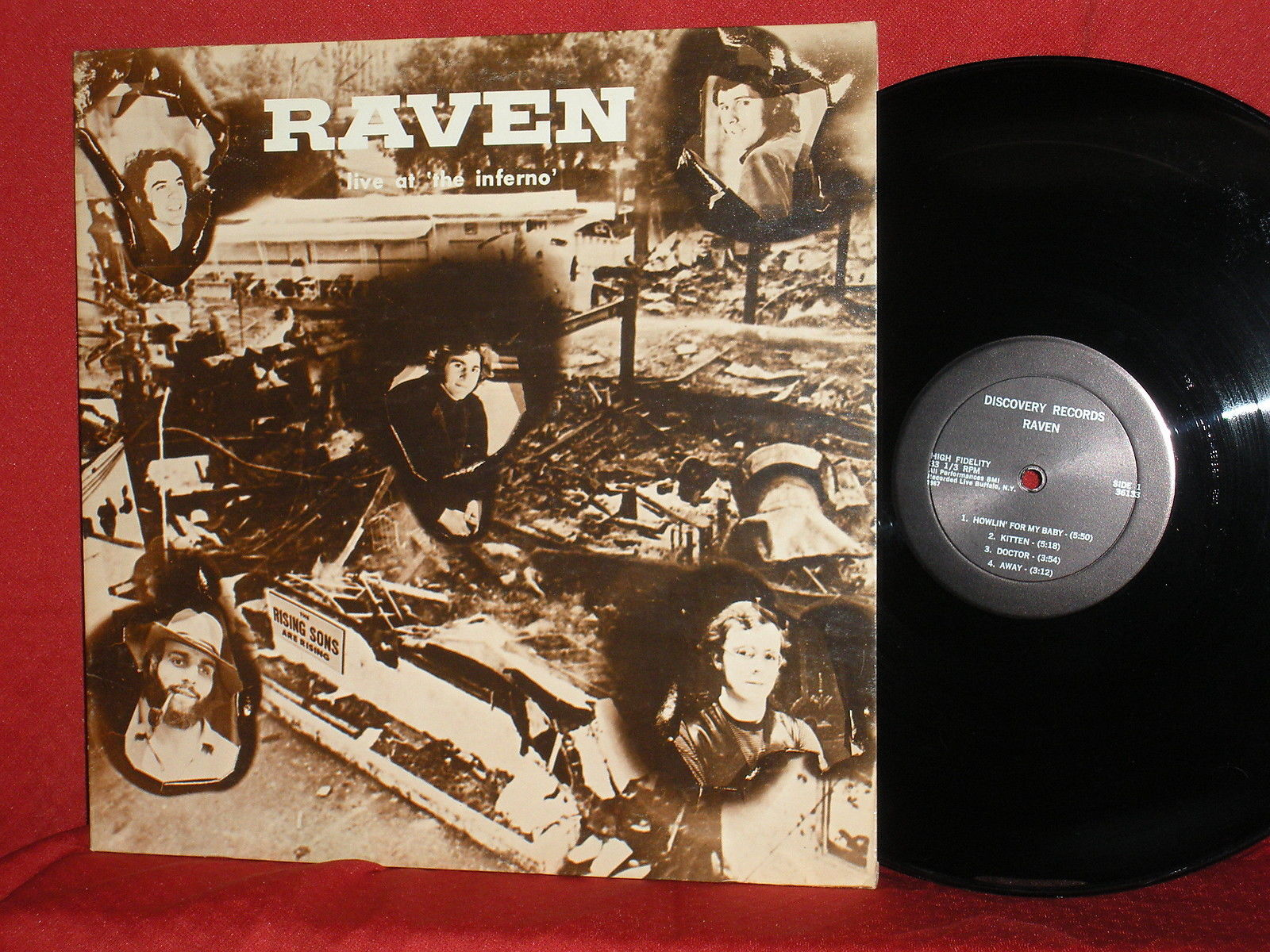 Raven Live At The Inferno Void Vinyl Records
