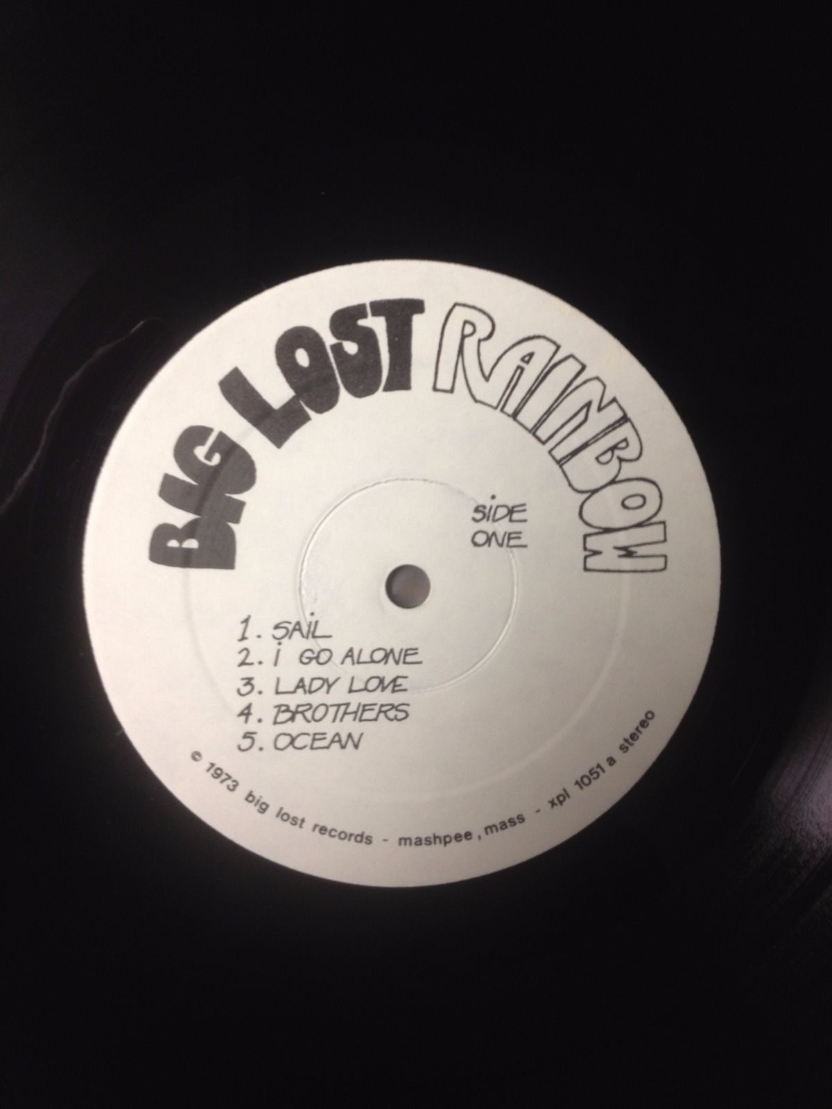 Big Lost Rainbow Same Copy 2 Void Vinyl Records