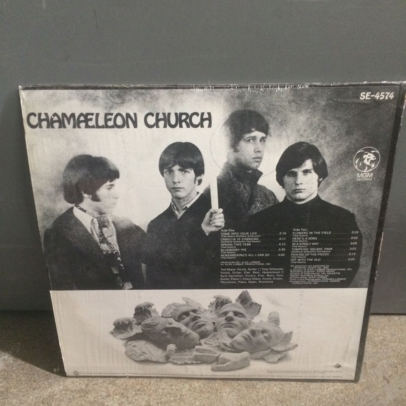 Chameleon Church Same W Chevy Chase Void Vinyl Records