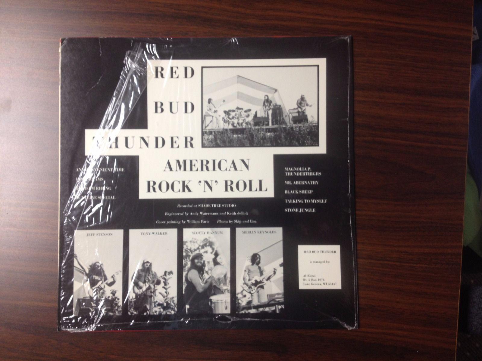 Red Bud Thunder American Rock N Roll Void Vinyl Records