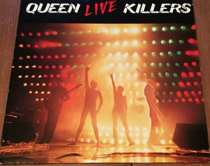 queen live killers freddy on stage void vinyl records. Black Bedroom Furniture Sets. Home Design Ideas